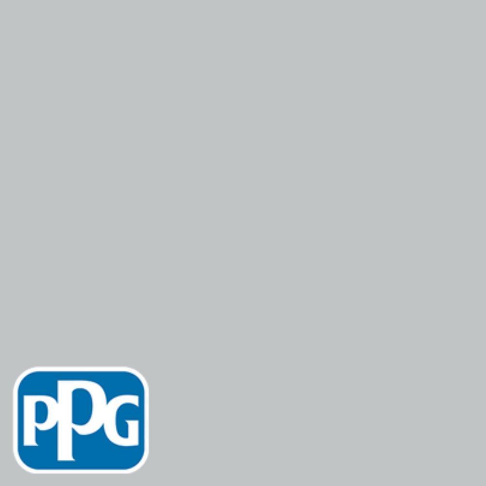 PPG TIMELESS 8 oz. #HDPPGCN37 Medici Grey Satin Interior/Exterior Paint Sample