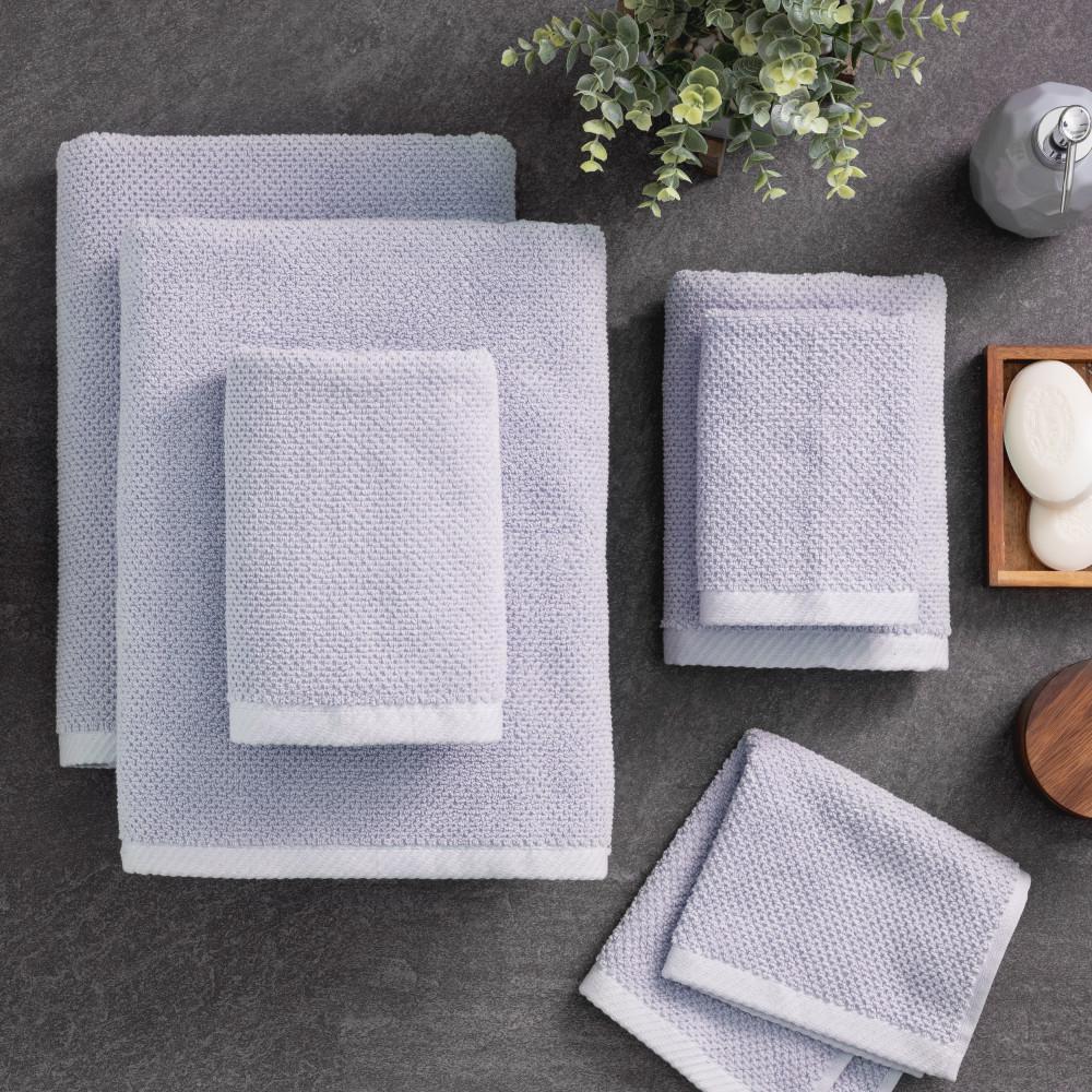 The Franklin 6 Piece Lilac Bath Towel Set