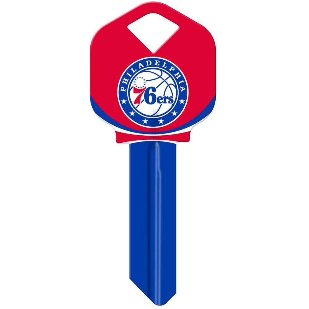 31981aa3418 Hillman NBA Philadelphia 76ers  66 Key Blank-94078 - The Home Depot
