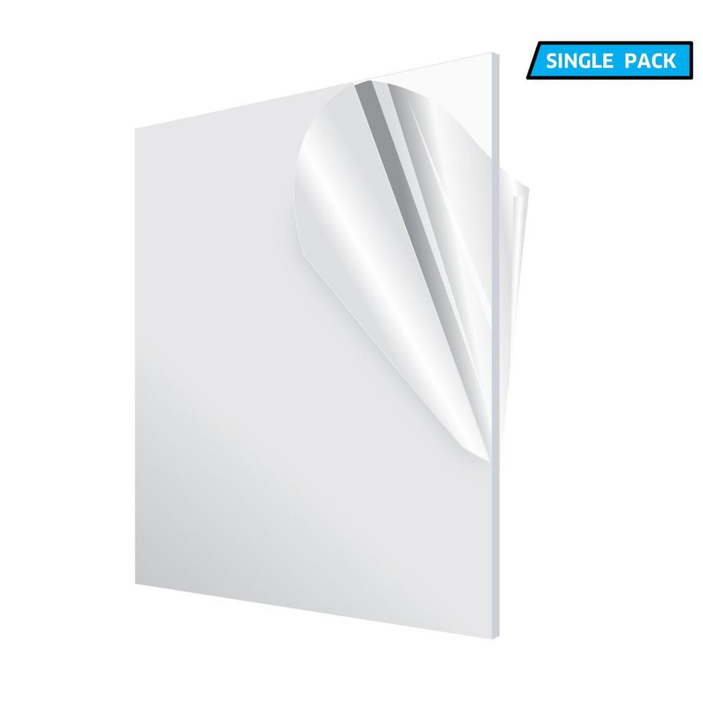"CLEAR ACRYLIC PLEXIGLASS 1//4/"" X 30/"" X 12/"" PLASTIC 2 Pack"