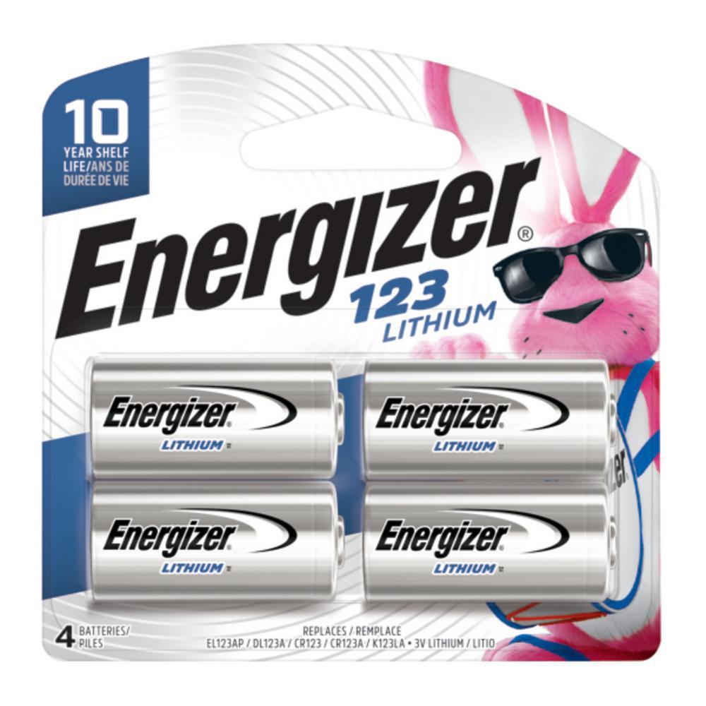 Energizer Photo Lithium 123 (4-Pack)