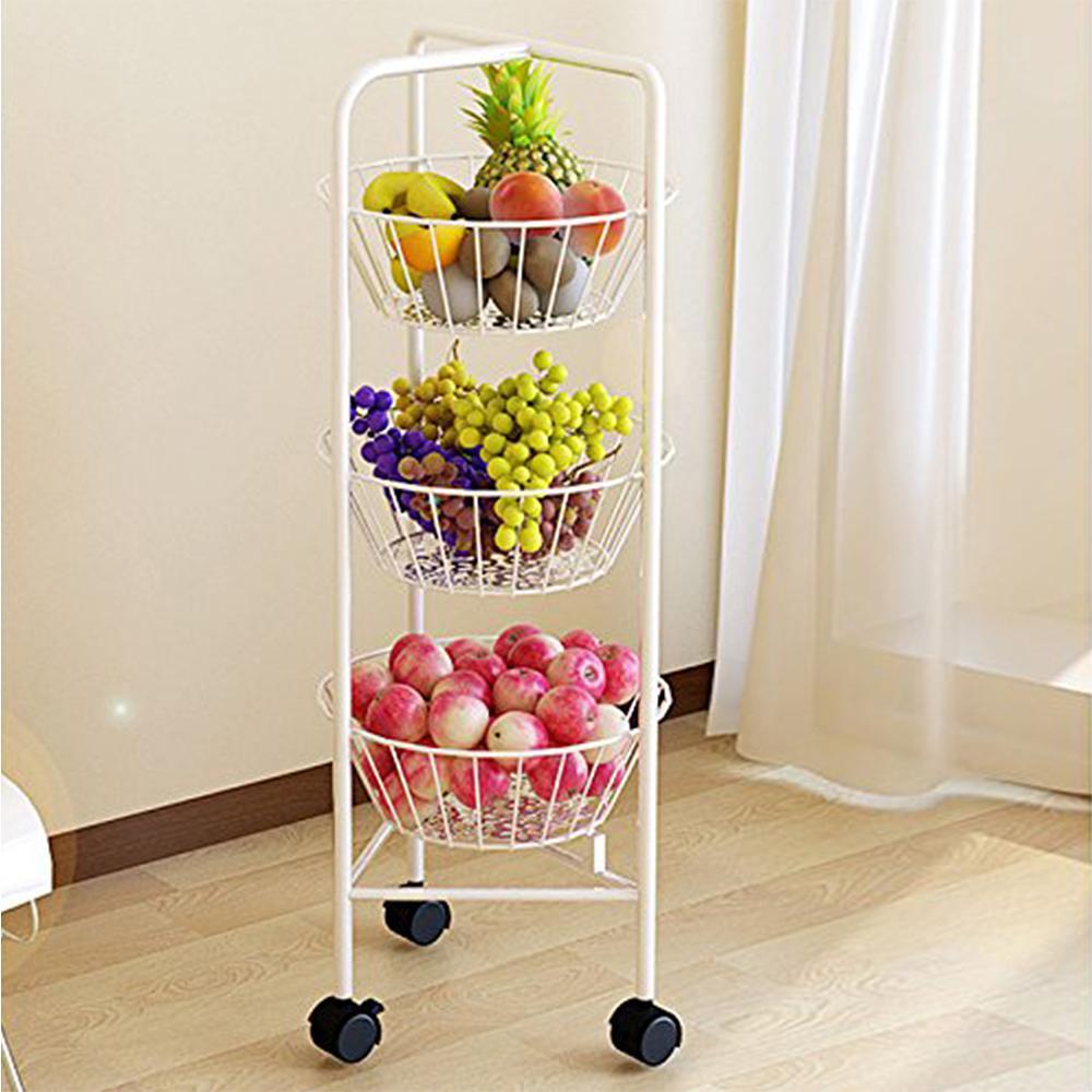 Furinno Balmain Metal Fruit Storage Rack