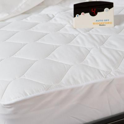 10 in. Queen Cotton Blend Mattress Pad