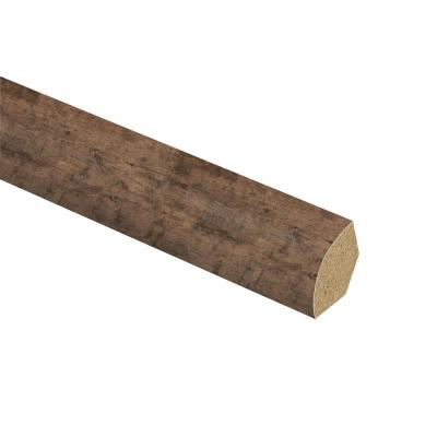 Rustic Grey Oak 5/8 in. Thick x 3/4 in. Wide x 94 in. Length Laminate Quarter Round Molding