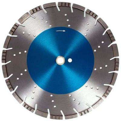 18 in. All Purpose Diamond Saw Blade 1 in. Arbor