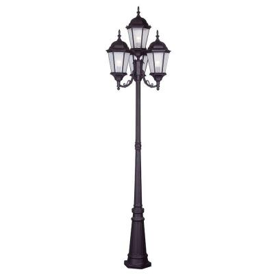 Hamilton 4 Light Bronze Outdoor 4 Head Post