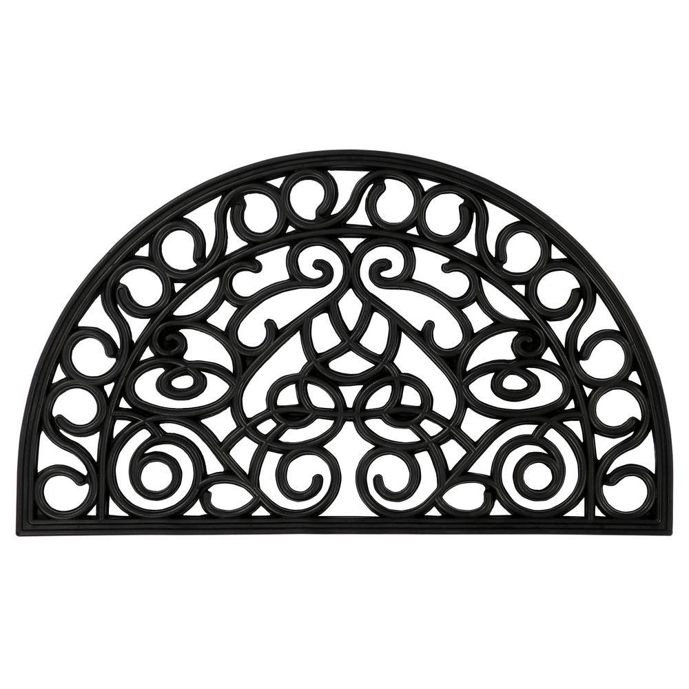 ottomanson rubber doormat collection black slice 18 in x 30 in 28 Inch Gold Chain ottomanson rubber doormat collection black slice 18 in x 30 in rubber door mat