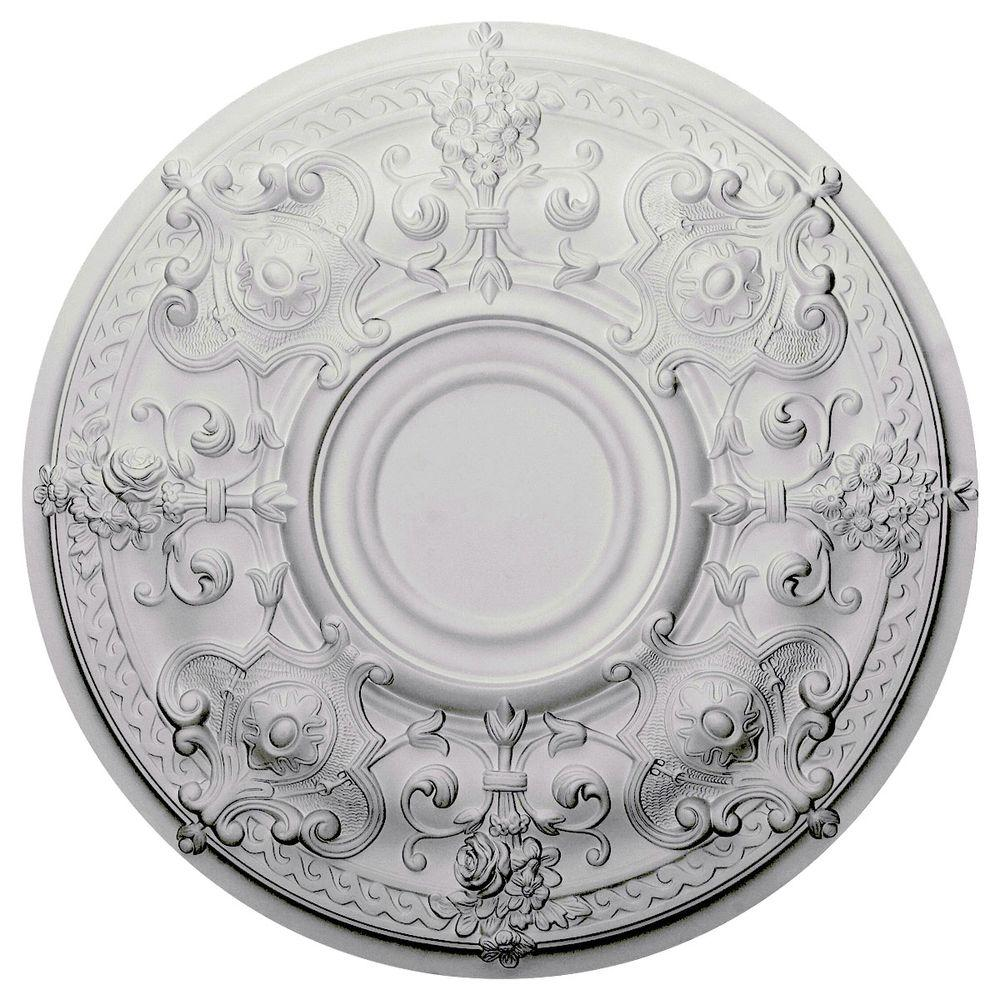 28 1/8 in. O.D. x 1-3/4 in. P Oslo Ceiling Medallion