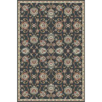 Melody Anthracite 2 ft. x 3 ft. 7 in. Indoor Accent Rug