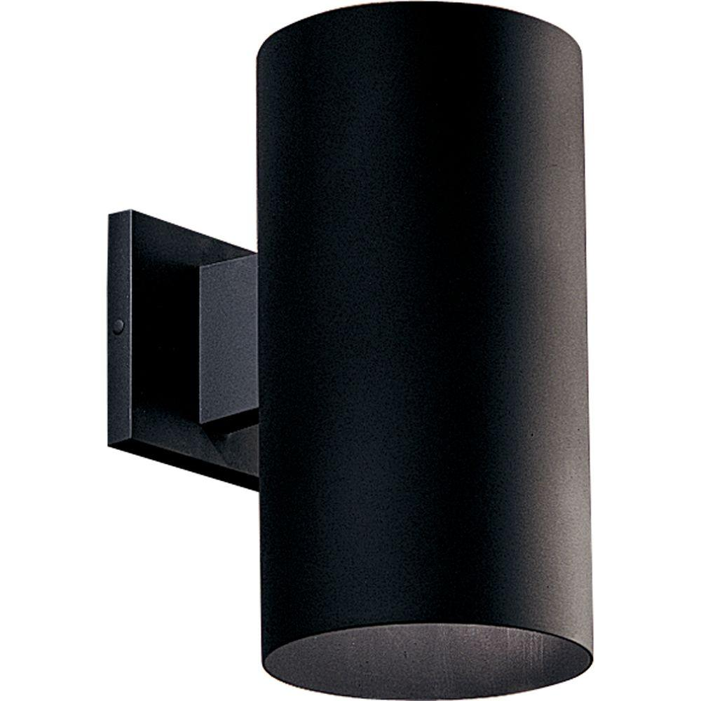 Progress Lighting 1 Light Black Outdoor Wall Lantern