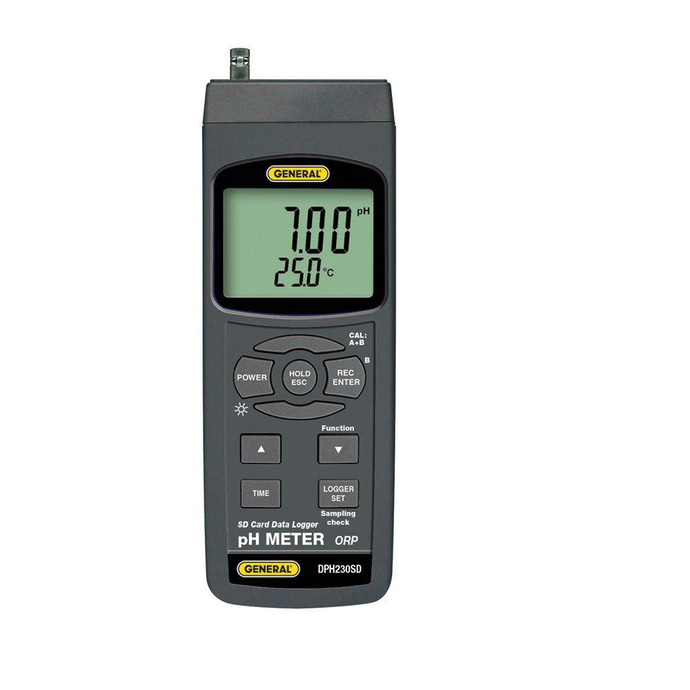 Data Logging pH/ORP Meter with 2GB SD Card