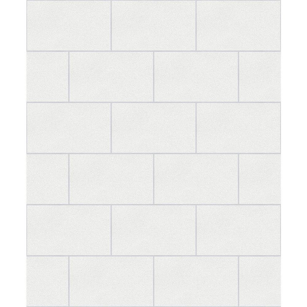 8 in. x 10 in. Joan White Tile Sample
