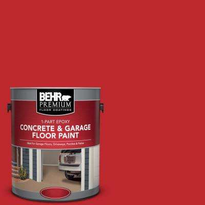1 gal. #P150-7 Flirt Alert 1-Part Epoxy Satin Interior/Exterior Concrete and Garage Floor Paint