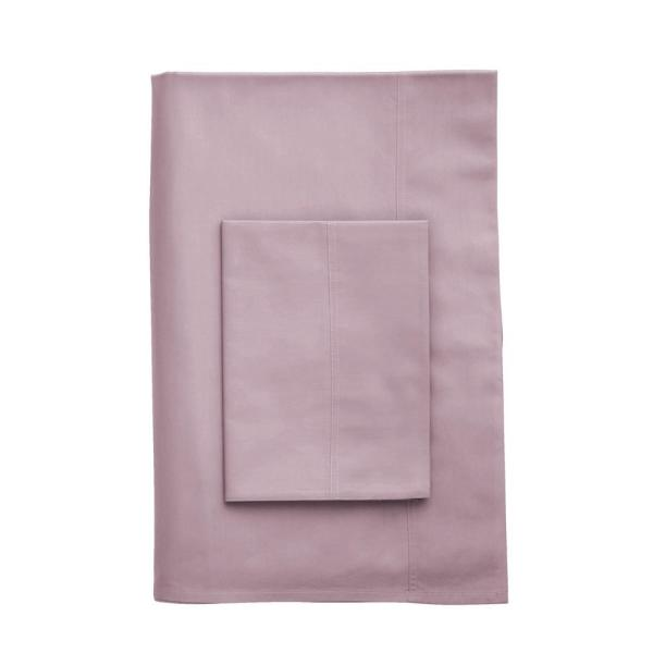 The Company Store Company Cotton Lilac 300 Thread Count Percale King