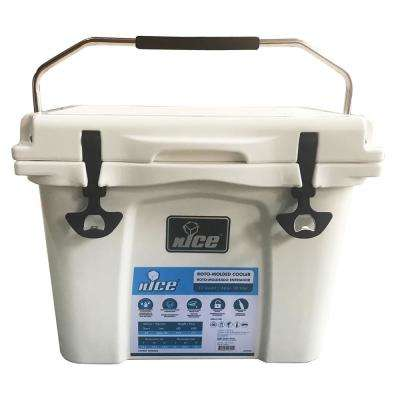 22 qt. White Cooler