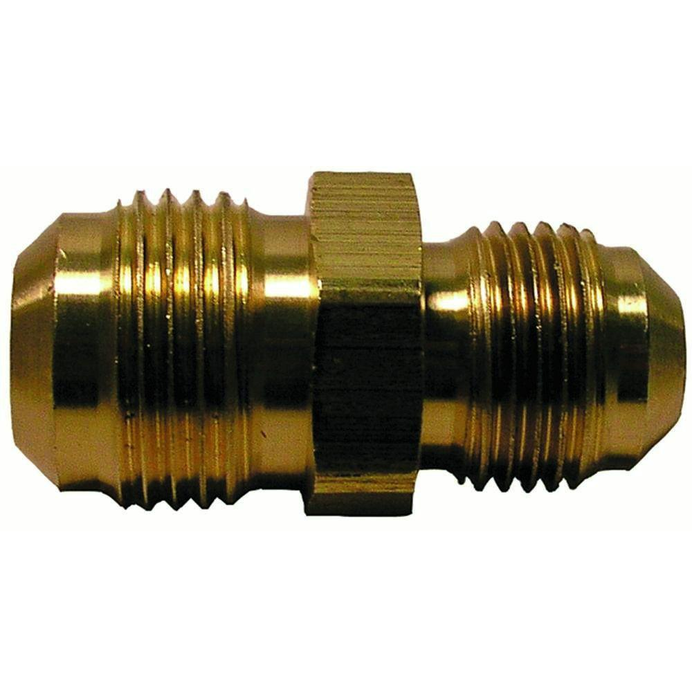 5/8 in. x 1/2 in. Lead-Free Brass Flare Reducing Union