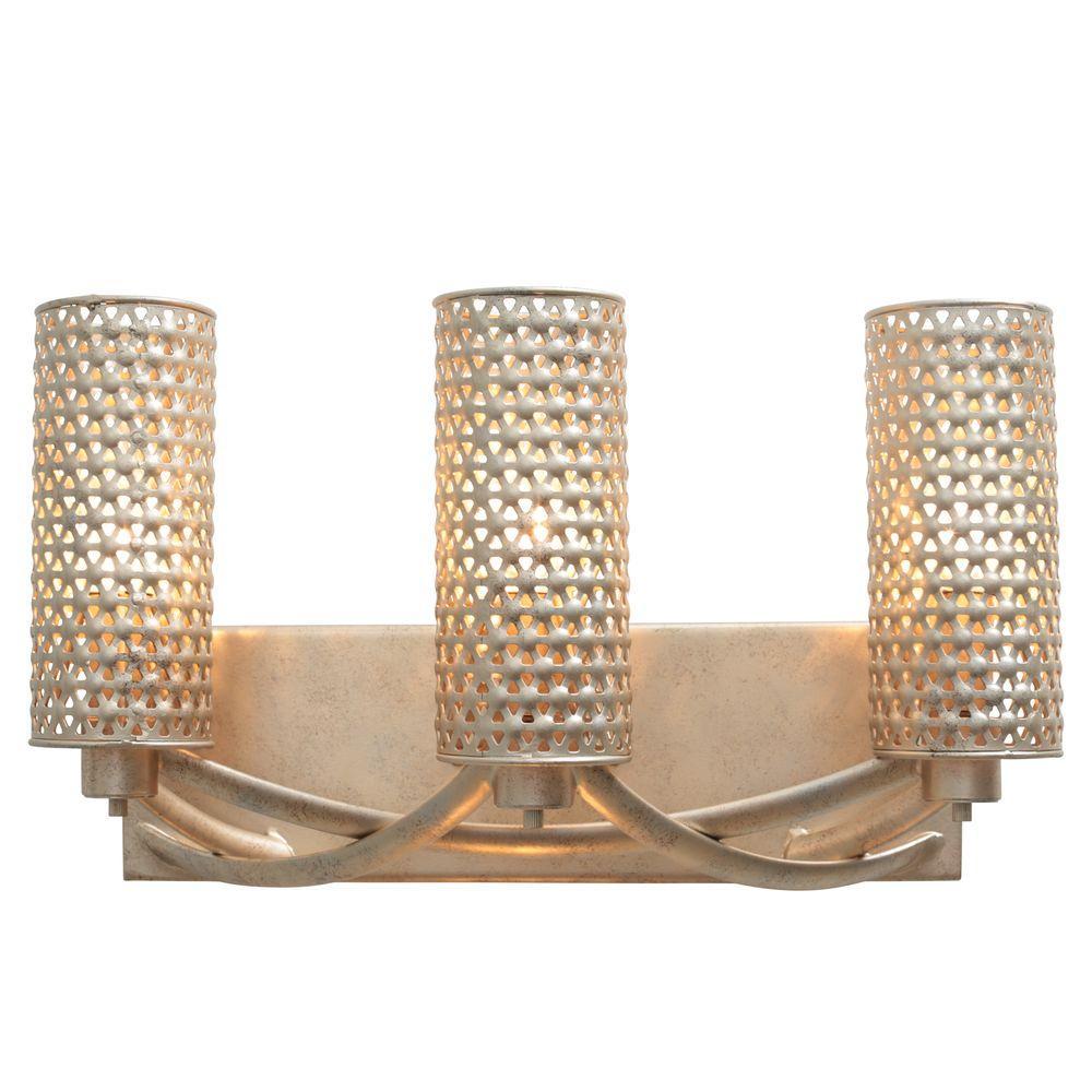 Varaluz Casablanca 3 Light Zen Gold Vanity
