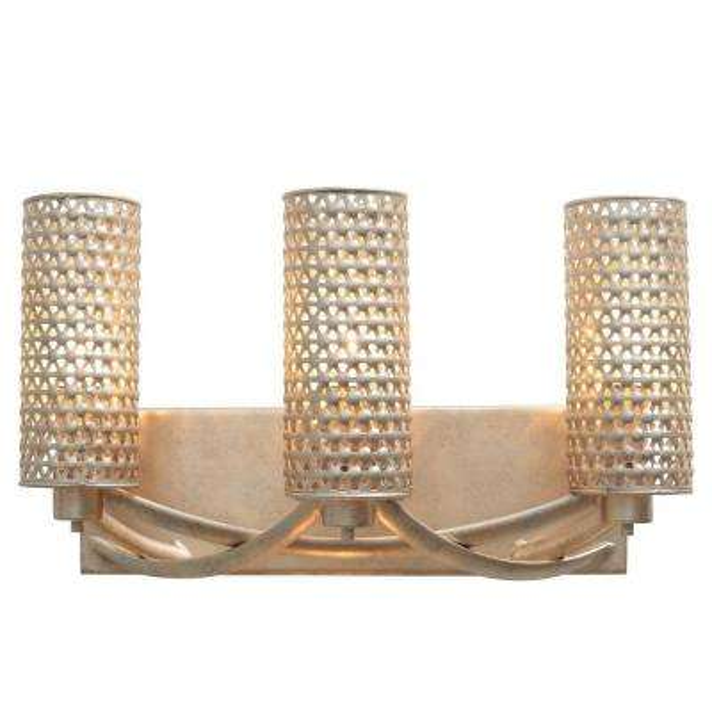 Casablanca 3-Light Zen Gold Vanity Light