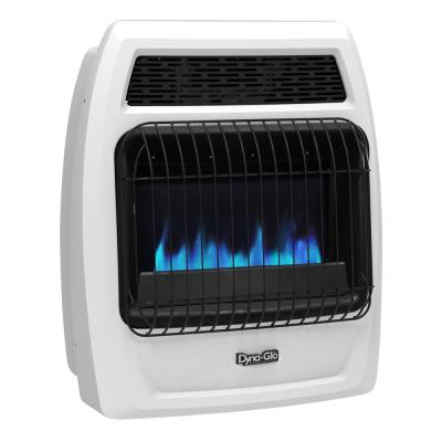 20,000 BTU Blue Flame Vent Free Natural Gas Thermostatic Wall Heater