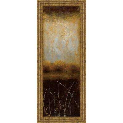 """18 in. x 42 in. """"Crystal Lake II"""" by Wani Pasion Framed Printed Wall Art"""