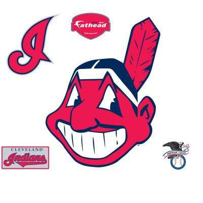 45 in. H x 35 in. W Cleveland Indians Alternate Logo Wall Mural