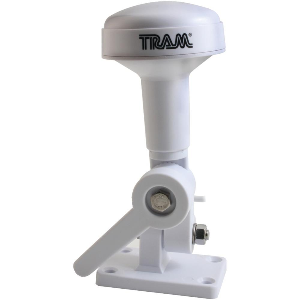 Tram Marine Satellite Radio Antenna Get satellite radio signals on the waves with the Tram Marina Satellite Radio Antenna. This antenna is designed specifically for boating usage, featuring a 1 in. x 14 thread. This antenna is compatible with Sirius and XM services.