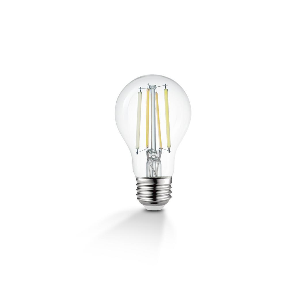 Globe Electric 60-Watt Equivalent Wi-Fi Smart A19 Vintage Edison Filament Tunable White LED Light Bulb