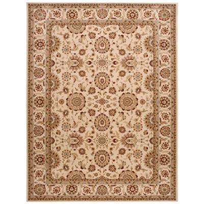 Persian Crown Suret Ivory 9 ft. 3 in. x 12 ft. 9 in. Area Rug