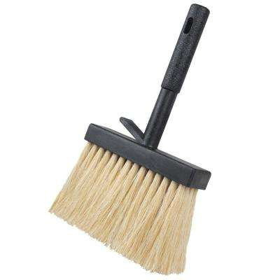 4 in. White  Tampico Concrete Hand Brush-Plastic  Block