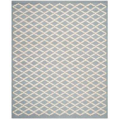 Cambridge Silver/Ivory 8 ft. x 10 ft. Area Rug