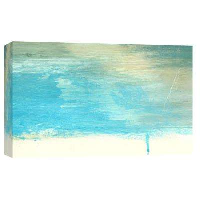 10 in. x 12 in. ''Coastal Seascapes A'' Printed Canvas Wall Art