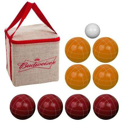 100 mm Regulation Budweiser Bocce Set