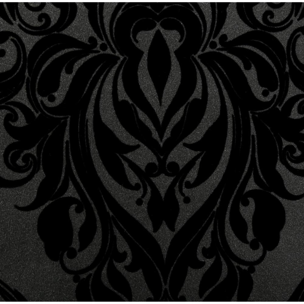 Graham Brown Vintage Black Removable Wallpaper