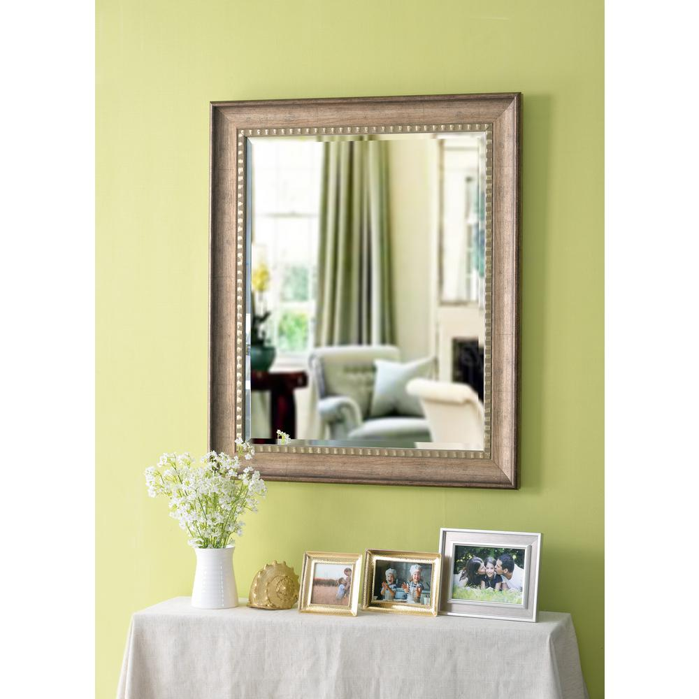Kate & Laurel Corrigan Rectangle Gold Wall Mirror-212982 - The Home ...