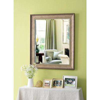 Amiens Square Gold Vanity Wall Mirror