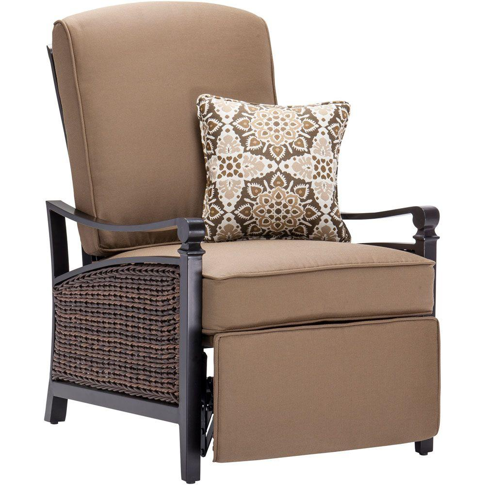 La-Z Boy Carson Espresso All-Weather Wicker Outdoor Luxury Patio Recliner with Mocha Cushion-CARSON-TAN - The Home Depot  sc 1 st  The Home Depot & La-Z Boy Carson Espresso All-Weather Wicker Outdoor Luxury Patio ... islam-shia.org