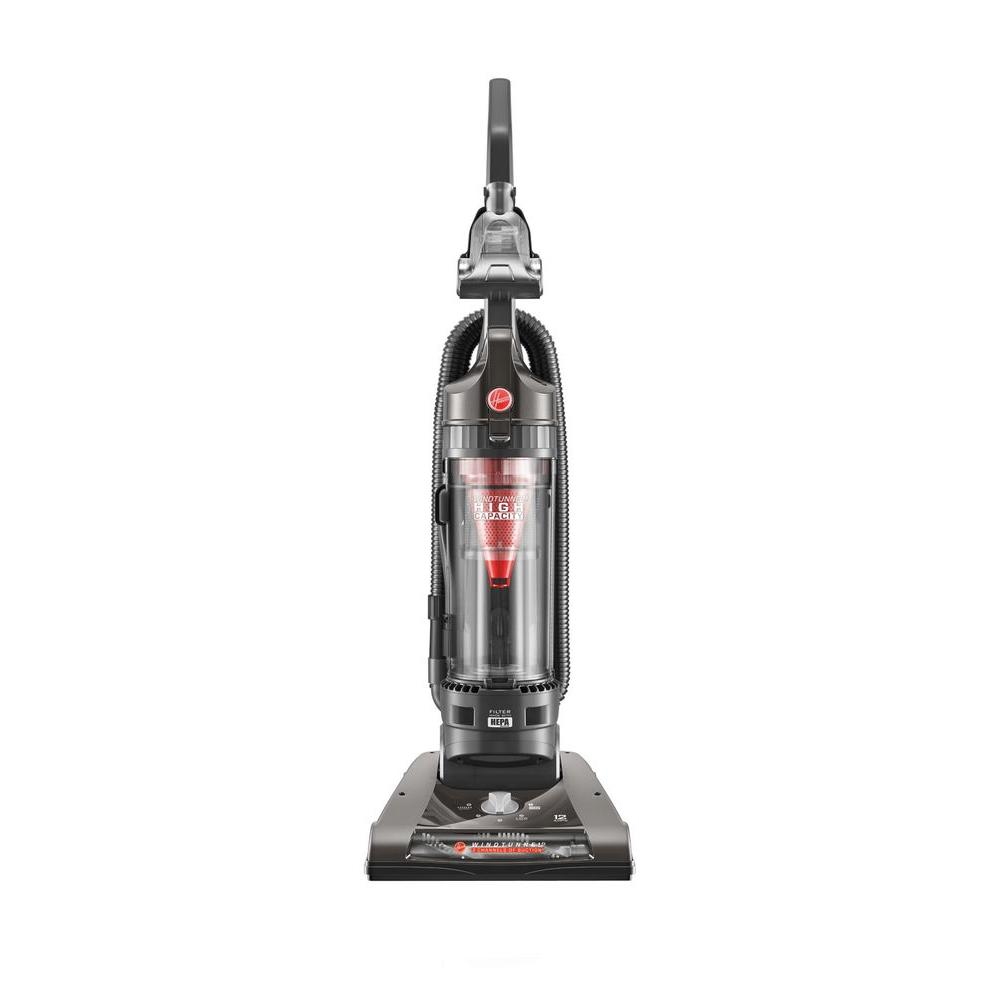 hoover windtunnel 2 high capacity bagless upright vacuum cleaner in black