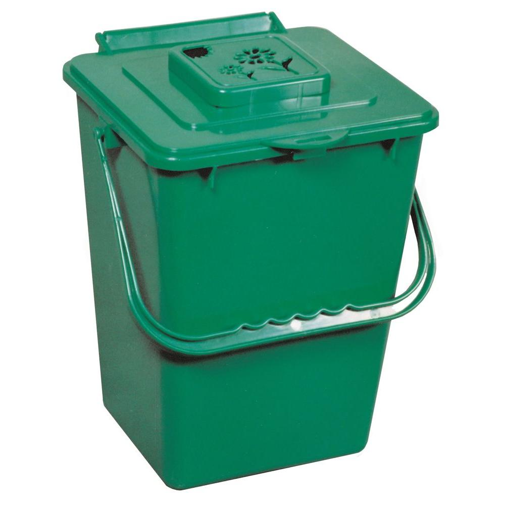 exaco eco 2 4 gal kitchen compost collector eco 2000 the home depot