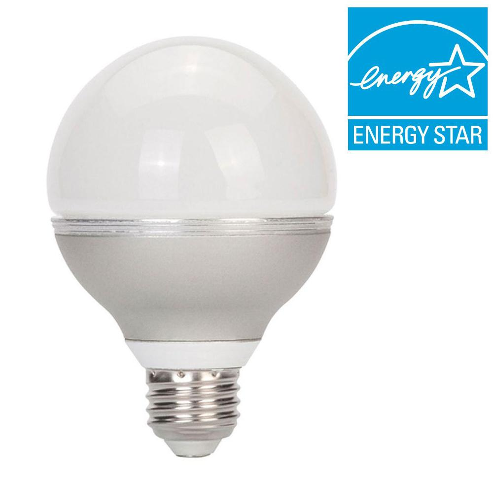 Globe Electric 40W Equivalent Soft White (3000K) G25 Dimmable LED Light Bulb