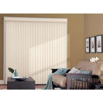 3.5 in. W x 61.5 in. L Passion Pink 3.5 Vertical Blind/Louver Set