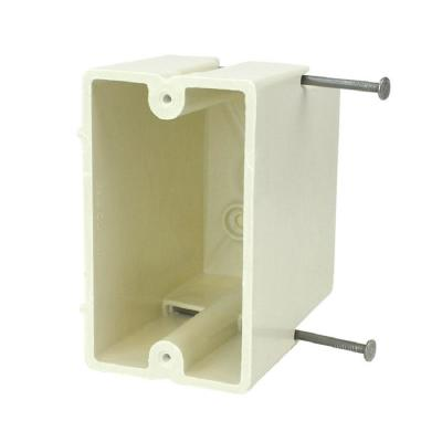 1-Gang 22-1/2 cu. in. New Work Switch or Receptacle Box