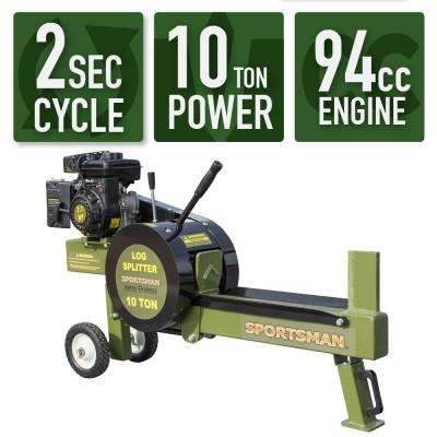 Earth Series 10 Ton 94cc Gas Kinetic Log Splitter