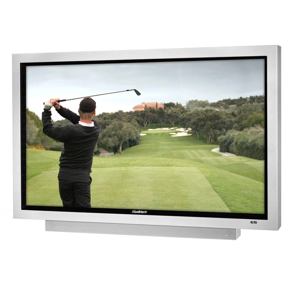 SunBriteTV Signature Series Weatherproof 65 in. Class LED 1080P 240Hz Outdoor HDTV - Silver-DISCONTINUED