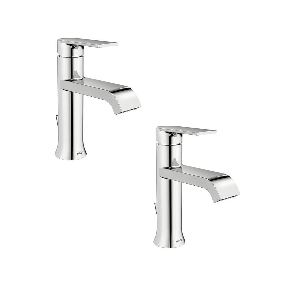 Moen Align Single Hole 1 Handle Bathroom Faucet In Chrome