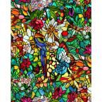 DC Fix Tulia also Known As Spring Chapel Stained Glass self adhesive Film
