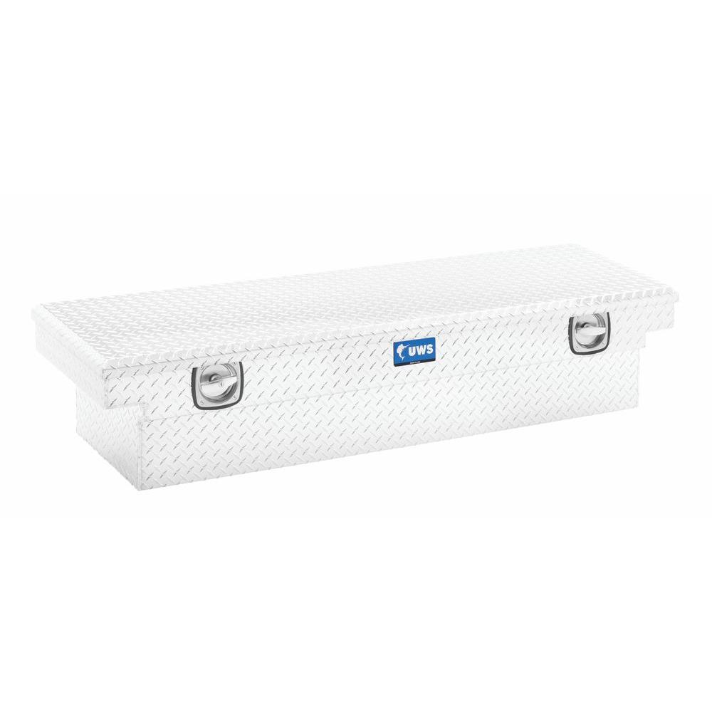 Uws 72 In Aluminum Single Lid Secure Lock Low Profile Crossover Toolbox Sl 72 Lp The Home Depot