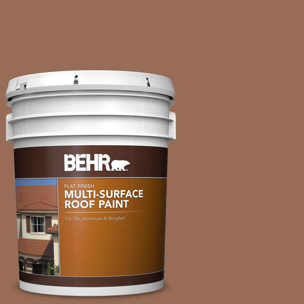 Behr 5 Gal S200 6 Timeless Copper Flat Multi Surface