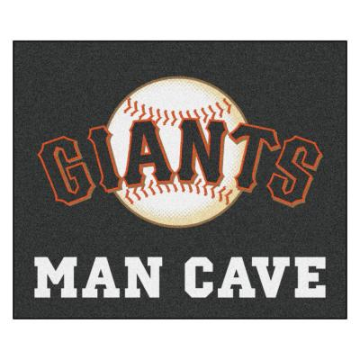 MLB - San Francisco Giants Man Cave Tailgater 5 ft. x 6 ft. Indoor Area Rug