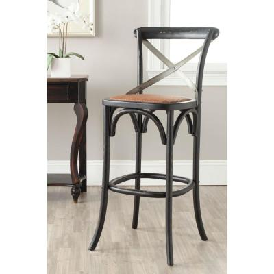 Eleanor 30.7 in. Hickory Bar Stool
