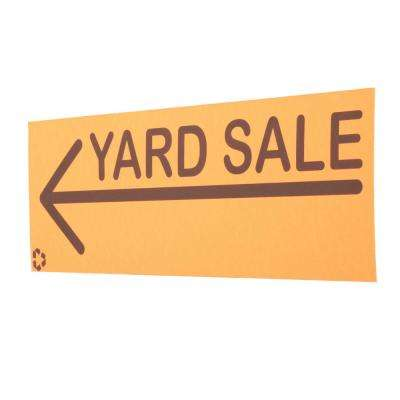 6.5 in. x 20 in. Yard Sale Sign Pack